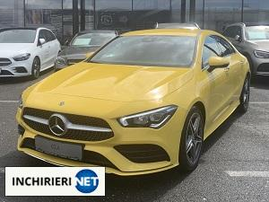 mercedes-benz cla 200 coupe fata