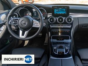 mercedes-benz c klasse interior