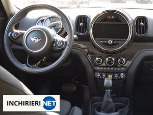 mini countryman hybrid interior
