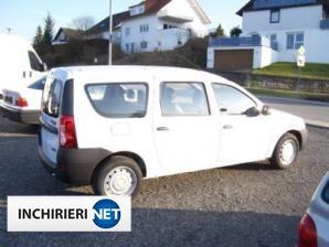 inchirieri masini Dacia Logan Lateral