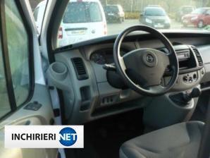 inchirieri masini Opel Vivaro Interior