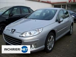 Peugeot 407 Lateral