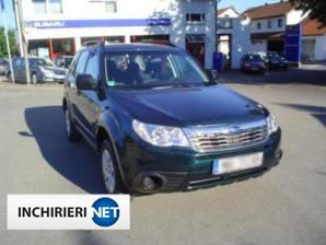 Subaru Forester Lateral