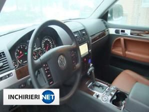 inchirieri masini VW Touareg Interior