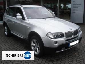 inchirieri masini BMW X3 Lateral