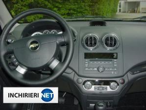 inchirieri masini Chevrolet Aveo Interior