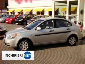inchirieri masini Hyundai Accent Lateral