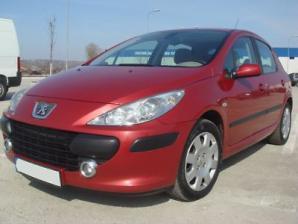 inchirieri masini Peugeot 307 Fata