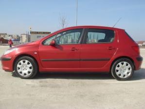 inchirieri masini Peugeot 307 Lateral