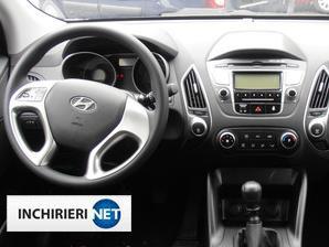 Hyundai ix35 interior