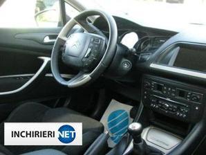 Citroen C5 interior