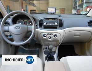Hyundai Accent interior