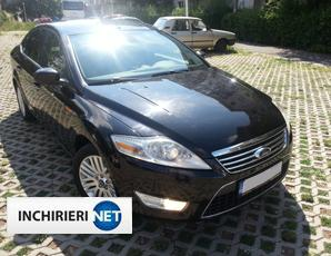 Ford Mondeo lateral