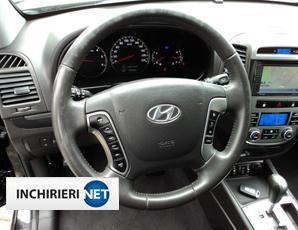 Hyundai Santa Fe interior