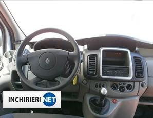Renault Trafic interior