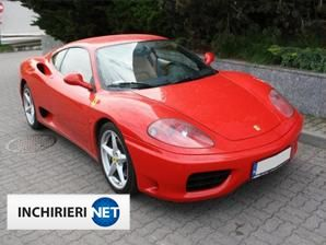 inchirieri masini Ferrari Lateral