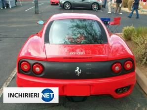 inchirieri masini Ferrari Spate